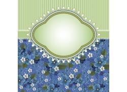 花卉图案邀请函封面