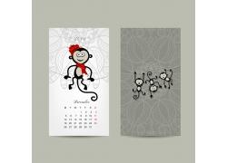 猴年挂历图