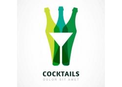创意鸡尾酒logo设计