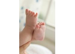 可爱儿童脚脚