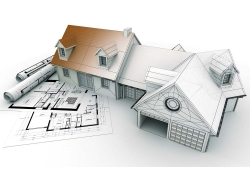 建筑图纸与3D效果图