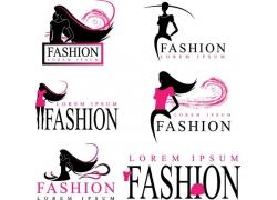 卡通美女logo设计