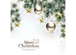 梦幻圣诞节海报背景