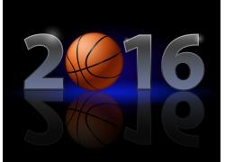 2016篮球艺术字