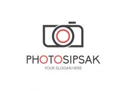 摄影照相机标志