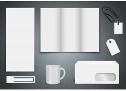 白色简约VI模板