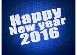 2016新年快乐艺术字
