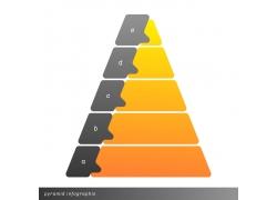 字线金字塔信息图表