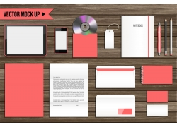 粉红色VI设计