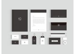 黑色简洁VI设计