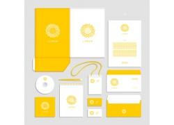 黄色时尚VI设计