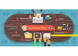 商务计划平面设计