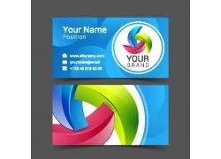 创意立体logo名片设计