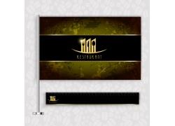 创意餐厅旗帜设计