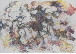 抽象油画艺术图片