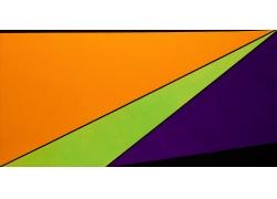 欧美现代几何图案装饰画图片