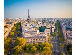 美丽巴黎风光