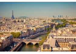 法国巴黎景色