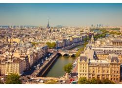 巴黎塞纳河风景