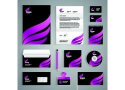 紫色VI设计