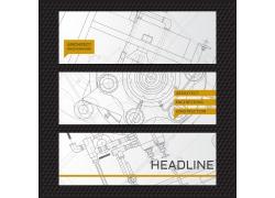 机械图纸横幅设计