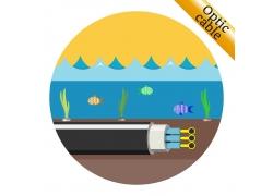 海鱼电缆线标志