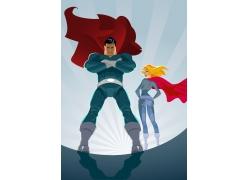卡通超人图片