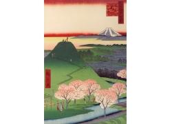 日本山水风景画