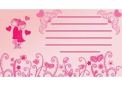 情侣花朵蝴蝶图片