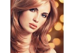 美发模特摄影