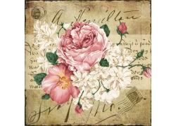 水彩花卉装饰画图片