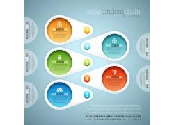 彩色水晶球信息图表