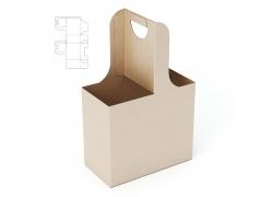 手提纸盒效果图