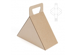 三角形纸盒设计
