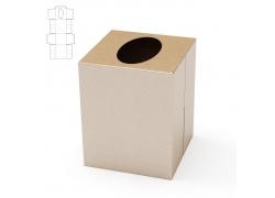 圆形镂空包装纸盒设计