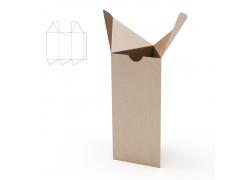 三角形包装盒效果图
