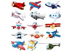 卡通玩具飞机