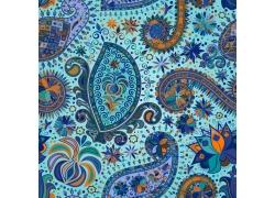 花卉图案佩斯利花纹背景