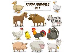 农场的动物图片