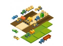 农场的机械图片