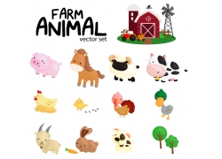 动物图标和房屋图片