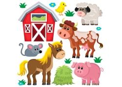 农场的动物图片图片