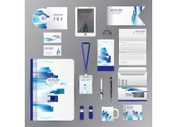 蓝色动感VI设计