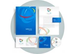 螺旋logo公司VI设计