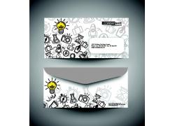 创意教育主题信封设计