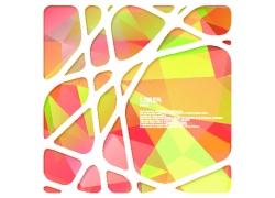 创意镂空框架背景