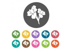 花卉植物图标