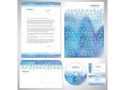 蓝色梦幻科技VI设计