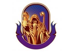 丝带死神徽标设计
