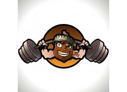健身运动徽标设计